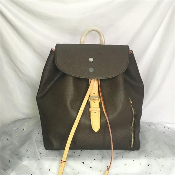 N41578 سبيروني حقيبة الظهر أعلى جودة سيدة الظهر مصممين مشبك التعادل حبل الكلاسيكية الجلود في الهواء الطلق حقيبة سفر أزياء المرأة أكتاف