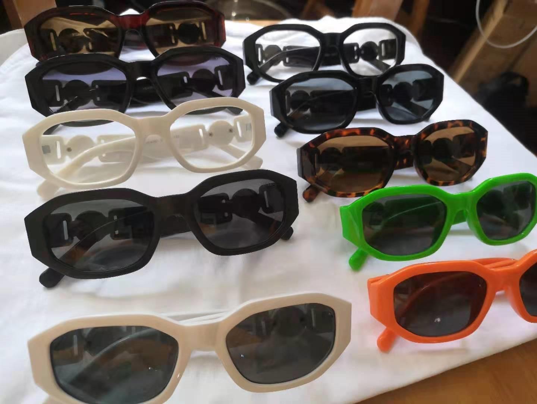 صغيرة جولة الرجعية نظارات الرجال النساء برشام ليوبارد الشاي ظلال خمر جديد مصمم نظارات oculos uv400 10 ألوان gafas دي سول 10 قطع بسرعة