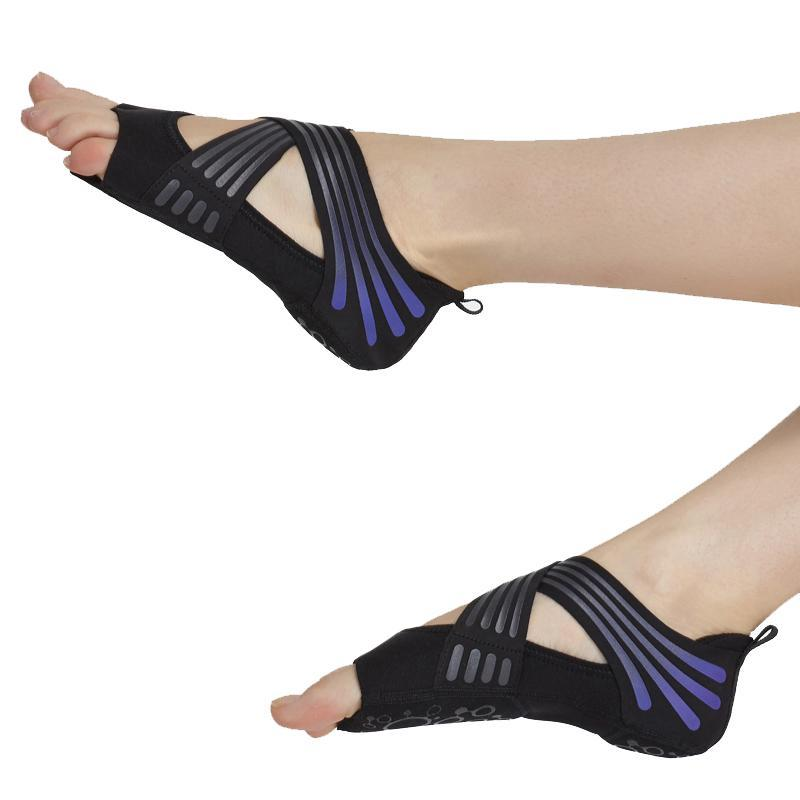 Sports Socks Yoga Shoes Aerial Pilates Non-slip Soft Bottom Breathable Five Finger Professional