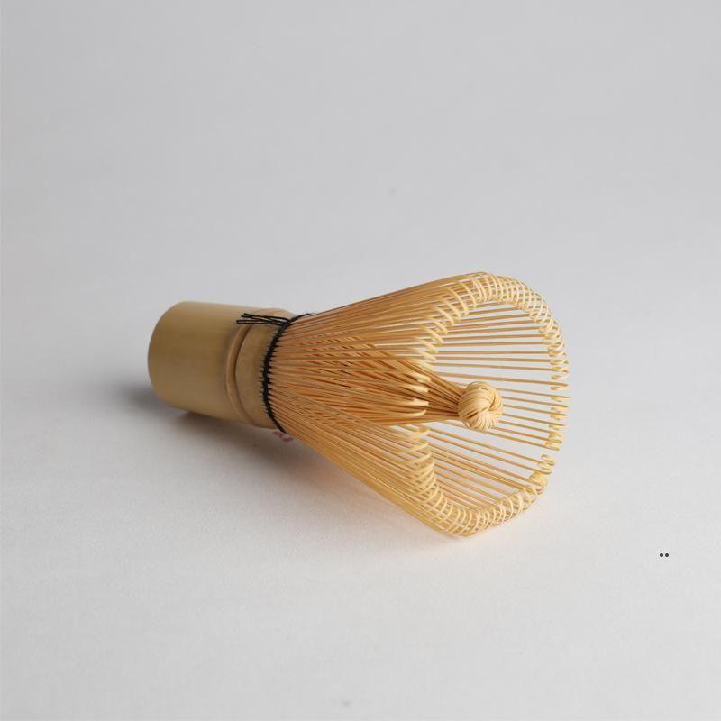 대나무 차 털이 일본식 대나무 matcha 차 샤신 차 서비스 실용적인 분말 털 브러쉬 스쿠프 커피 도구 바다 우주선 fwe8304