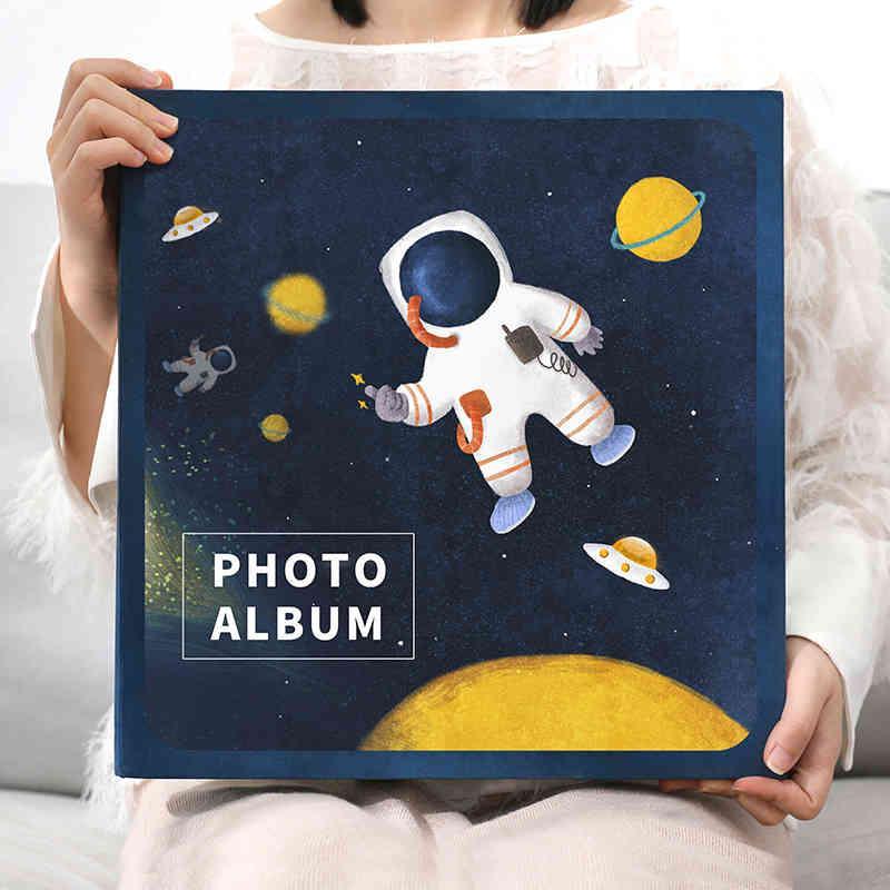 Baby Album DIY Scrapbooking Picture Photo Album Photocard Holder Photo Book Sticker Album Albun Fotos Baby Memory Book DA60XC 210330