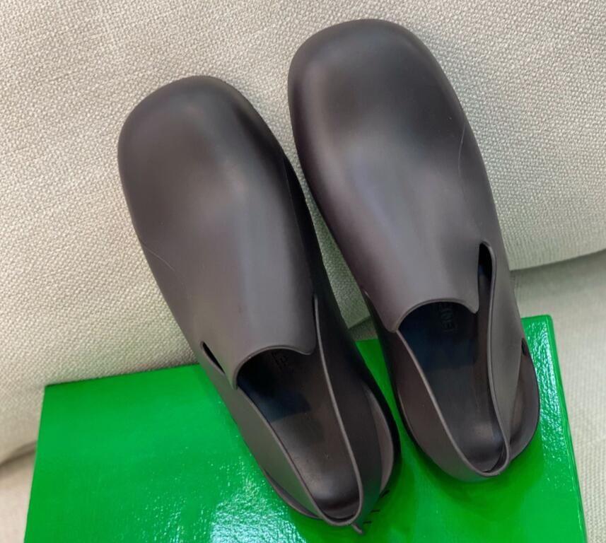 Bayanlar Sandalet Görünmez Kalın Tabanlı Kauçuk Jöle Tasarım Nadir Pedallar Yumuşak, Kesinlikle hayal gücünün ötesinde