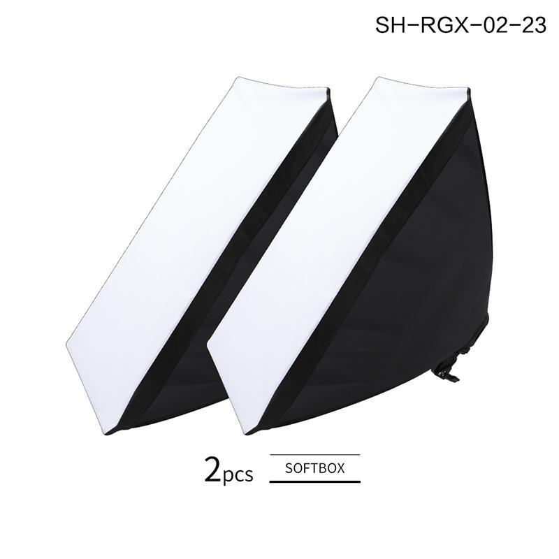 Continuous Lighting SH 4 Lamp Holders Softbox Pography Studio Po Kit With 2M Pographic Tripod Accessories Soft Box Bag For Camera