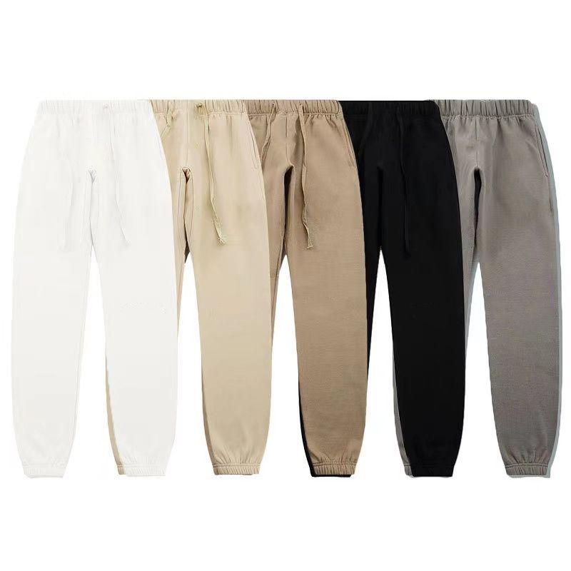 Essentials com calças reflexivas homens mulheres desenhador longo calça primavera esportes de outono rodando oversize tamanho de tracksuit s-xl