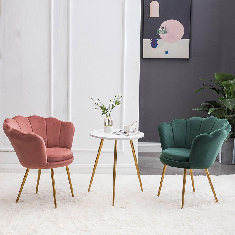 Modernes Wohnzimmer Möbel Flanell Weiche Single Sofa Balkon Faule Freizeit Entspannung Rückenlehne Sessel Schönheitssalon Nagelhop Wartescheibe
