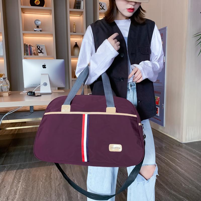 Light nylon bag for men's and women's luggage