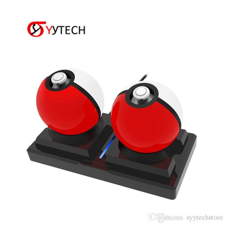 Syytech Çok fonksiyonlu Şarj Tutucu Baz Nintendo Anahtarı Sprite Topu Oyun Aksesuarları için Şarj Dock İstasyonu