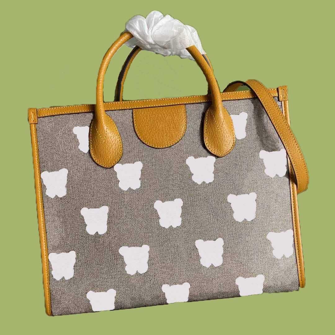 Famosos bolsas de moda designer, saco de compras homens e mulheres sacos de ombro, crossbody, grande volume super cute animal impressão flores superior qualidade x332