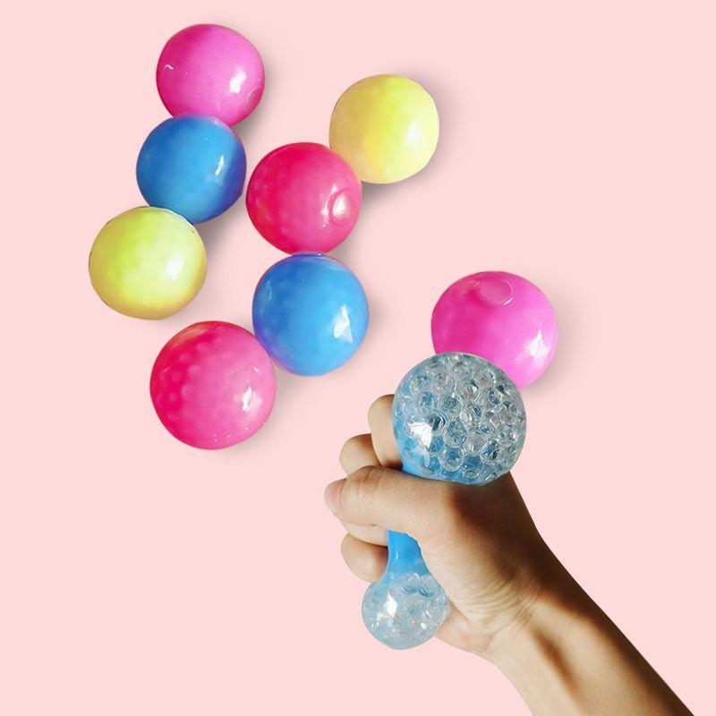 Декомпрессионное отделение вентиляционного игрушка мяч стресс Hidget рельеф красочные палочки к стену силиконовые вискосферы игрушки для взрослого ребенка 0 95SC B3