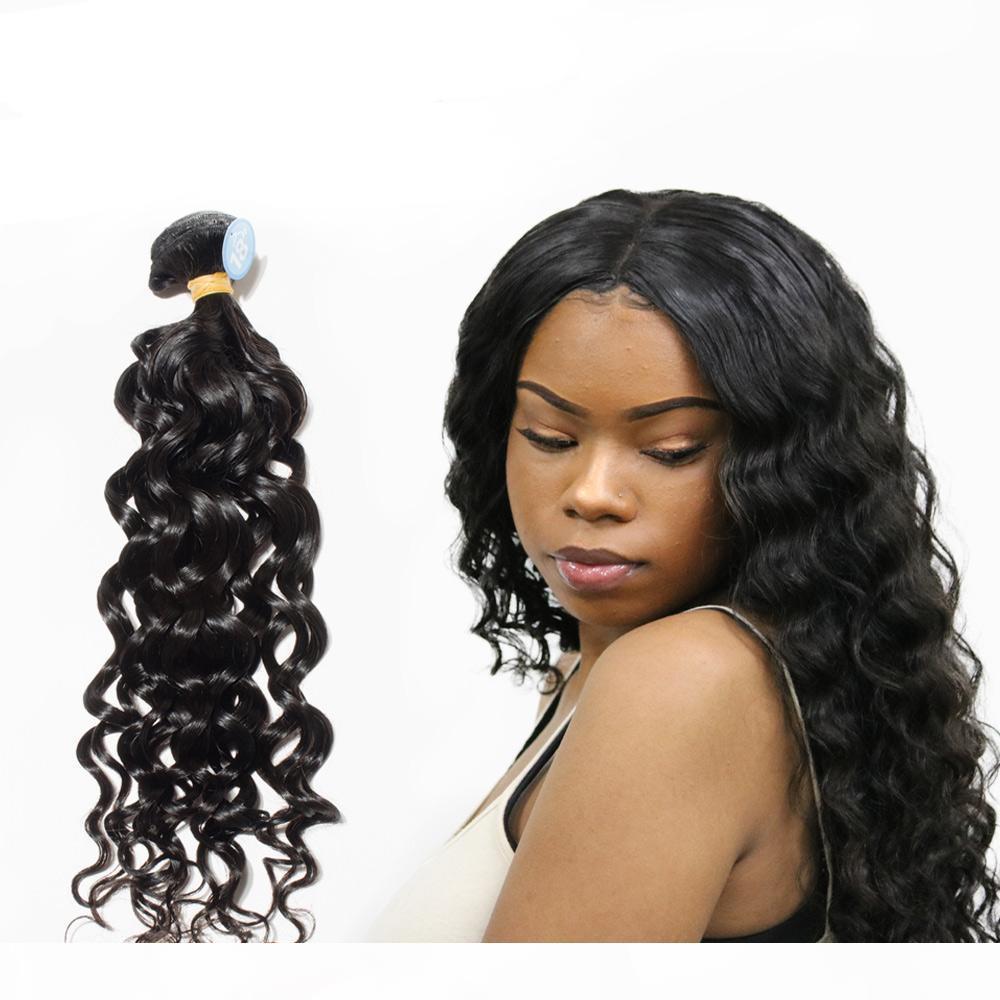 Meilleur 10A brésilien péruvien de la vierge indienne vierge de cheveux humains tissée eau naturelle vague d'eau humide et ondulée seules cheveux de remesse de 2 ans vivant à vie