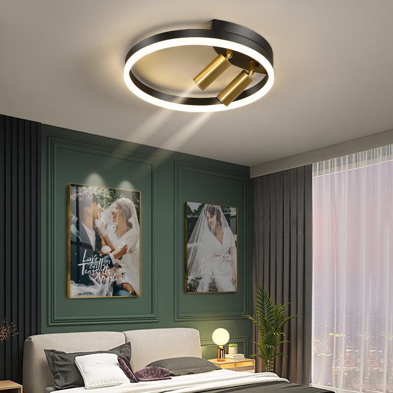 거실에 대 한 LED 천장 조명 주방 현대 골드 조명 복도 램프 원격 제어 220V와 Dimmable