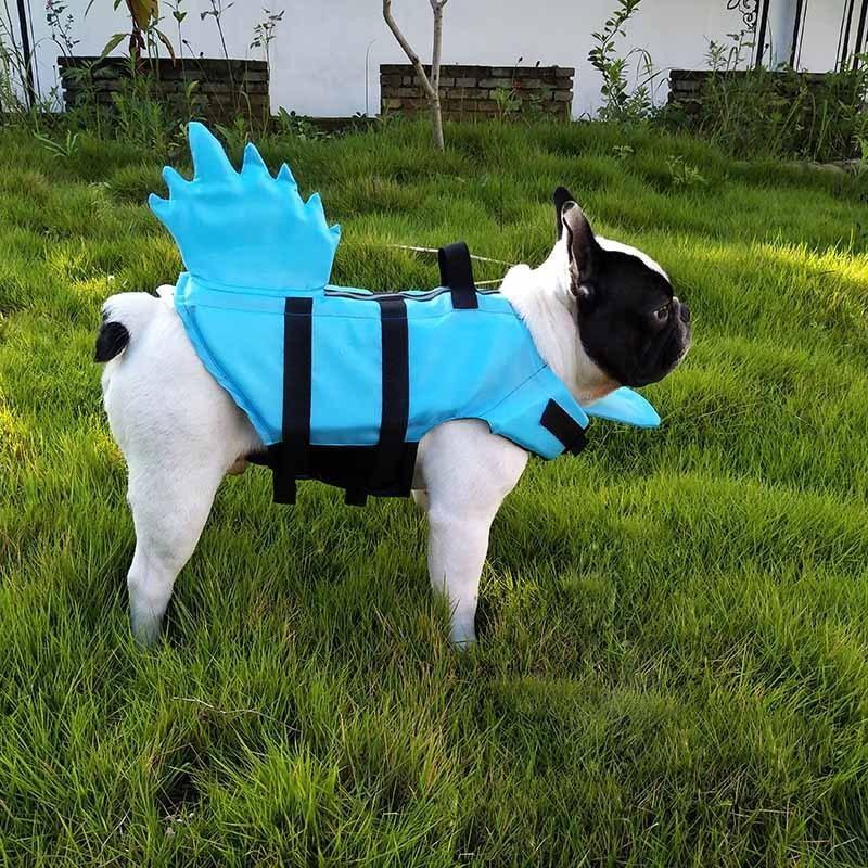 Sublimación reflector en blanco Nylon chaleco para perros mascotas Malla transpirable ajustable Ropa de Moda Creativa Camisa de verano TUXEDO Suministros para perros Dragón Tail