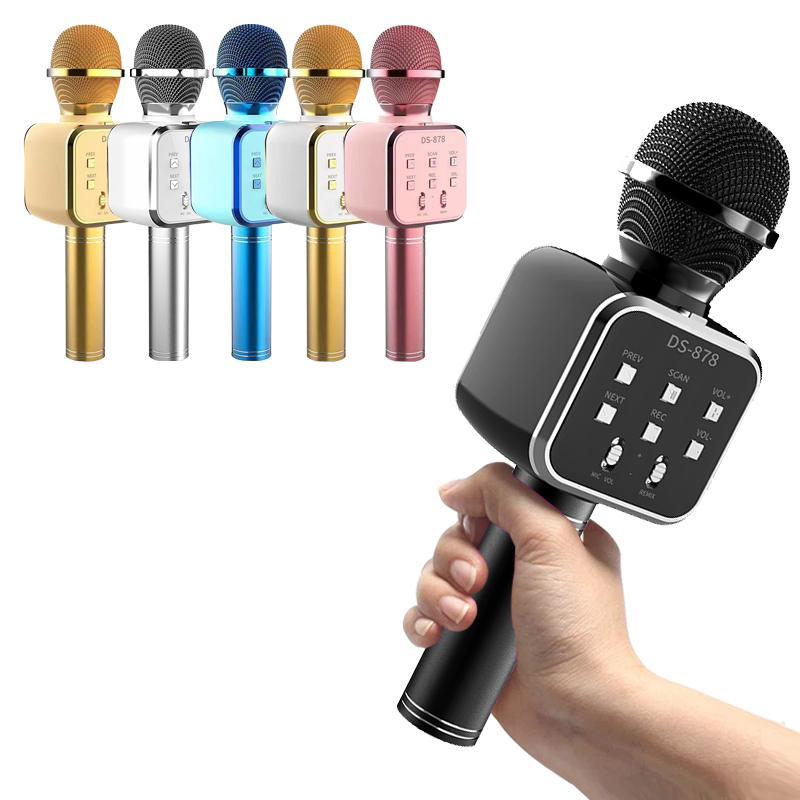 OEM DS878 KTV-Songmikrofone integriertes macaron drahtloses Mikrofon
