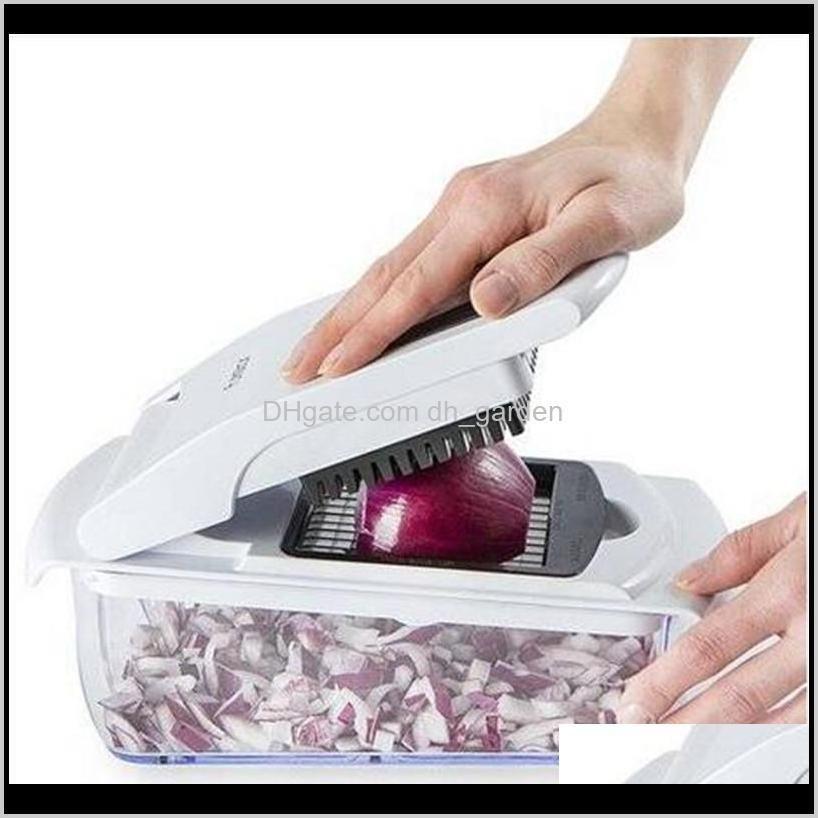 المندولين القطاعة البصل - الخضار dicer food المروحية المطبخ بار أدوات المائدة أدوات الطبخ الفاكهة و m2lit 5kous