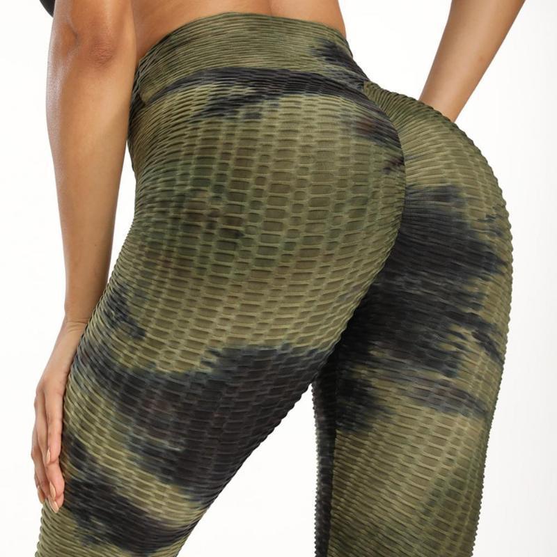 Women's Leggings High Waist Fitness Women Workout Push Up Legging Fashion Solid Color Bodybuilding Jeggings Pants