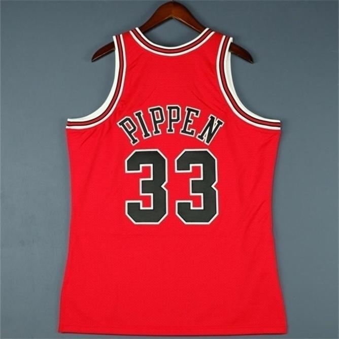 668Custom homens juventude mulheres vintage scottie pippen mitchell 98 finais faculdade basquete jersey tamanho s-4xl ou personalizado qualquer nome ou número jersey