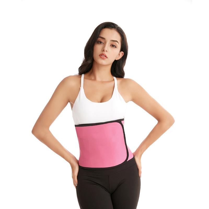 Kadın şekillendirme kadınlar neopren vücut şekillendirici bel kemer sauna zayıflama kuşakları spor ter sıkıştırma kayışı karın göbek kontrol eğitmen