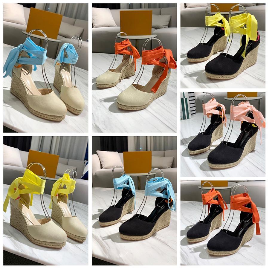 Alta Qualidade Spring Wedge Sandálias Clássicos Chinelos de Marca Verão Sandálias Plana De Moda Beach Sapatos por Home011 02
