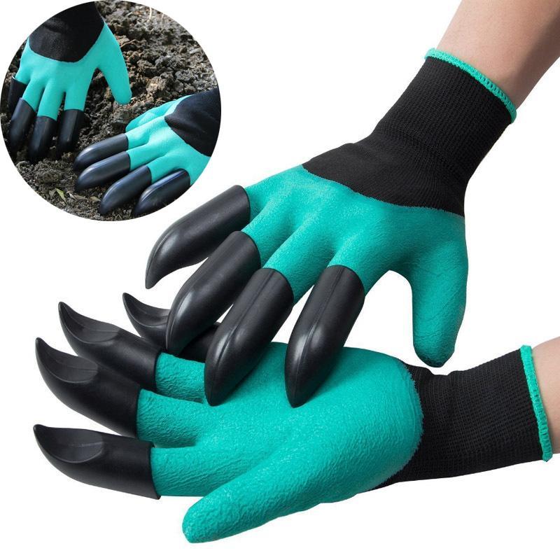 Gants Supply Garden avec des griffes à portée de main à la main pour une creuse facile à creuser une plantation de protection ratisse de protection KDJK2106