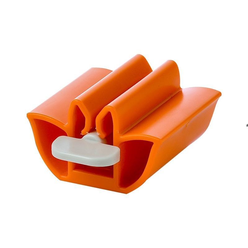 Accessoires de salle de bains Presse-dentifrication Pâte de dentifrice Distributeur Distributeur Distributeur Tube Tube Squeezer Nettoyant facial Presse à roulement pour enfants HHA4869