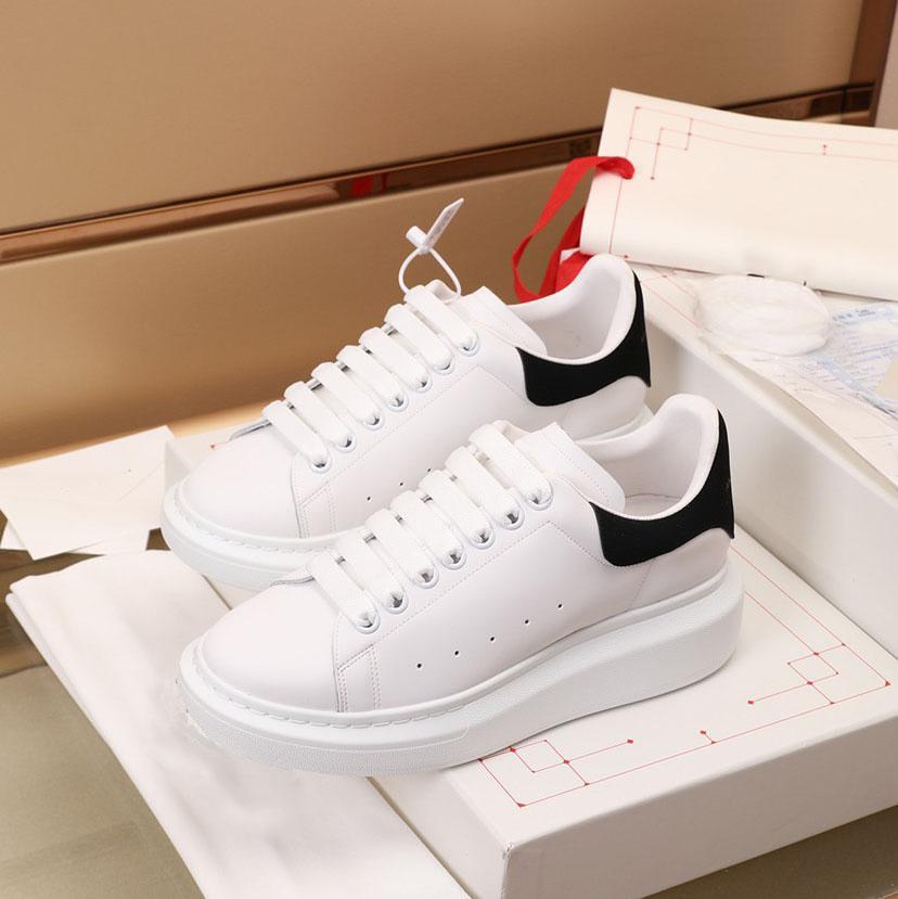 2022 إمرأة رجل مدربون عارضة أحذية جلدية منصة حذاء شقة حزب اللباس من جلد الغزال الأحذية أعلى جودة chaussures دي سبورت zapatillas 35-46