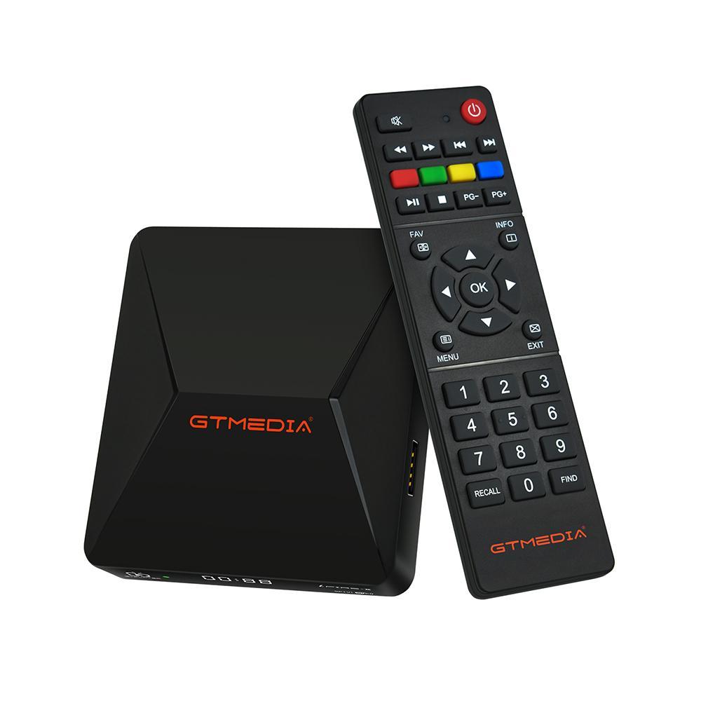 GTMedia Ifire II Set Top Box FULL HD 1080P HEVC 10bit 2.4G Wifi Ethernet USB Port