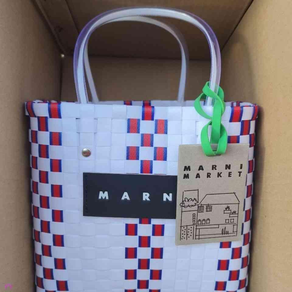 Bolsa de canasta de vegetales de logotipo original, tamaño mediano cada uno, color, estilo completo! con la etiqueta 9myh