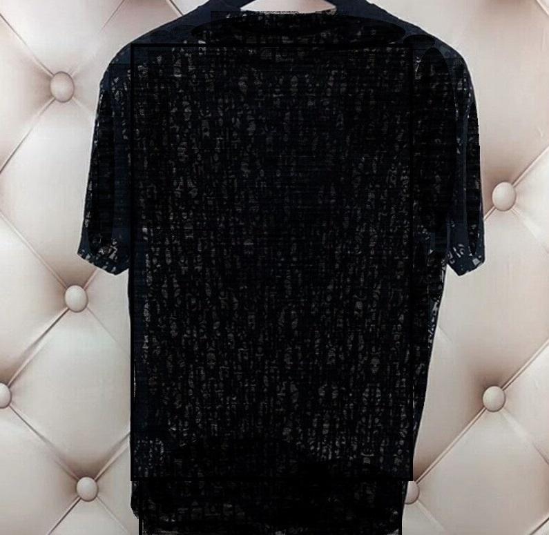 Verão Camiseta Moda Forme Blusa Blusa Polos Elegante Ruffle Blusas Oco Out Homem Carta Camisas T-shirt Top Streetwear Casual Senhoras Tops Homens Sexy Party Tees Roupas