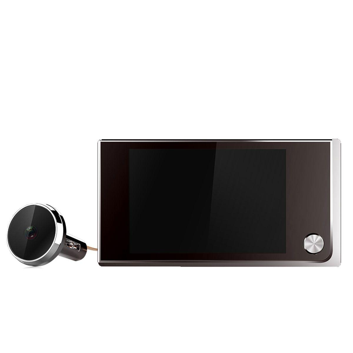 """ESCAM C01 3.5 """"디지털 LCD 120도 엿봄 뷰어 사진 시각 고양이 아이 캠"""