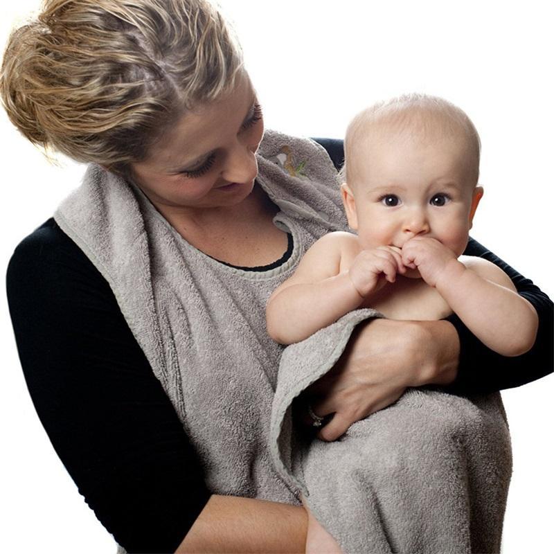90 cm * 90 cm Penye Pamuk Bebek Banyo Havlusu Kapşonlu Önlük Yüksek Kaliteli Havlu Emici Çocuk Kapşonlu Mendil Banyo Havlusu 114 B3