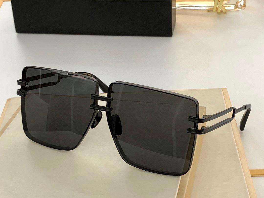 Óculos de sol para homens e mulheres Estilo de verão BPS 109c Anti-ultravioleta retro forma quadrada placa quadro completo moda óculos aleatório caixa