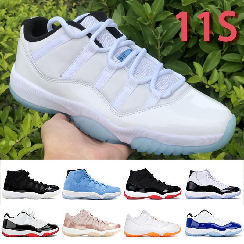11 개 11S 농구 신발 남자 여자는 콩코드 (45) 25 Annivers 낮은 뱀 해군 운동 트레이너 감마 블루 Sbeakers 키 체인 태그 사육