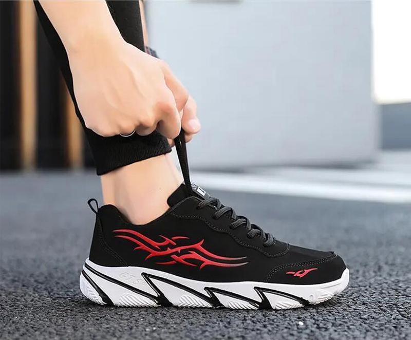 2021 أزياء رجالي الاحذية أبيض أسود أصفر أحمر اللهب المدربين الرياضة حذاء ستة حجم 36-44