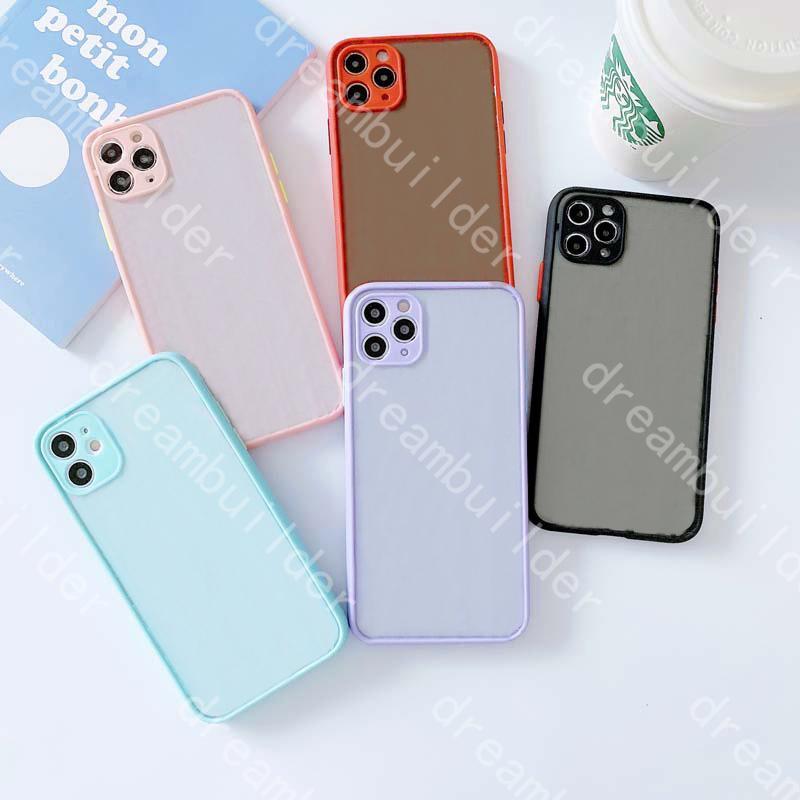Designer moda casos de telefone para iphone 12 pro máximo 11 x xs xsmax xr caso claro choque à prova de choque duro shell transparente