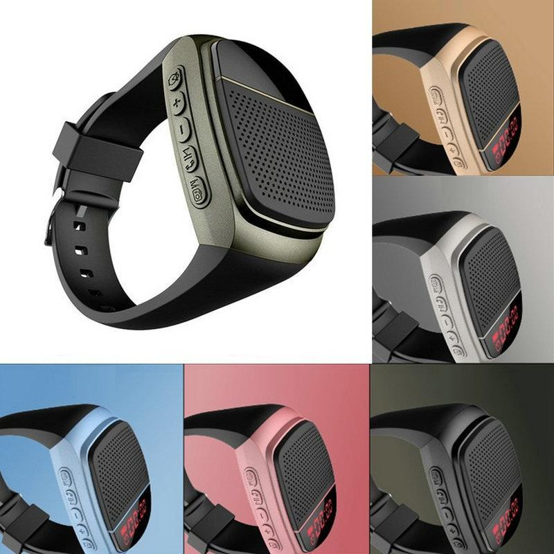 2021 Smart Electronics B90 Pulso Wireless Bluetooth Relógio de Áudio Self-Temporizador Esportes Ao Ar Livre Esportes Mostrar Ligação Mãos-Livre