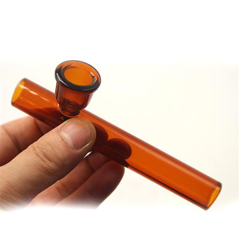 Лаборатории Pyrex Стеклянные Масляные Горелки Трубы Рука Курение Ложка Трубы с Табачкой Сухой травой Чаша