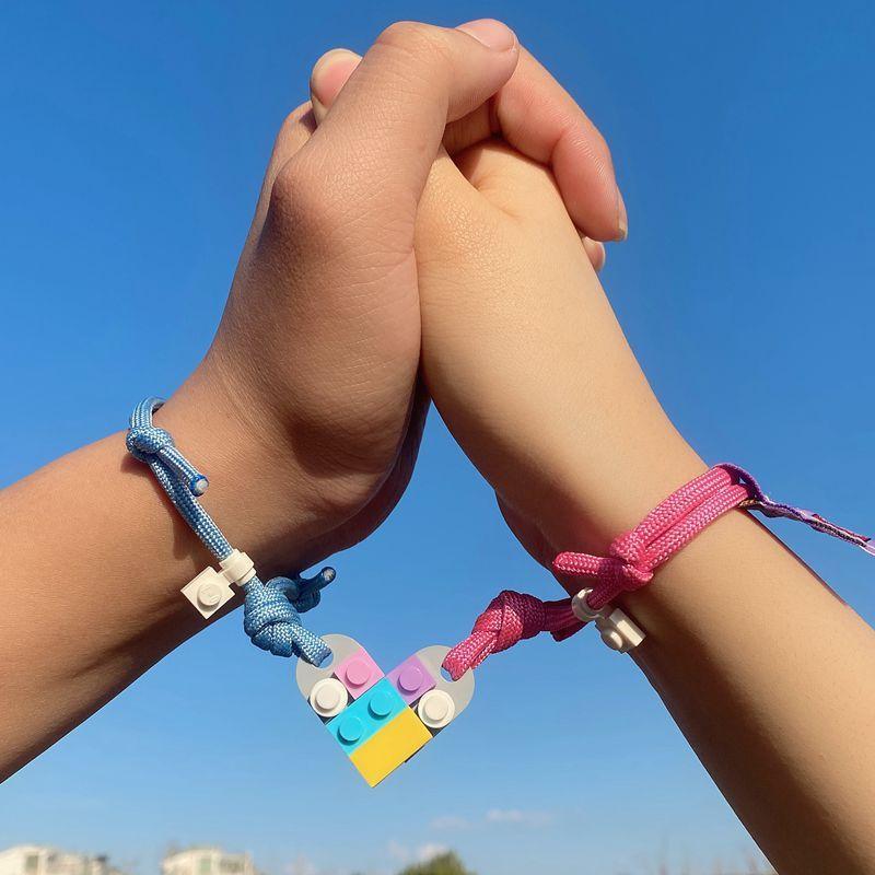 2021 летние ювелирные изделия строительный браслет, сращиваемые браслеты дружбы, хороший подарок для друзей, оптом в наличии