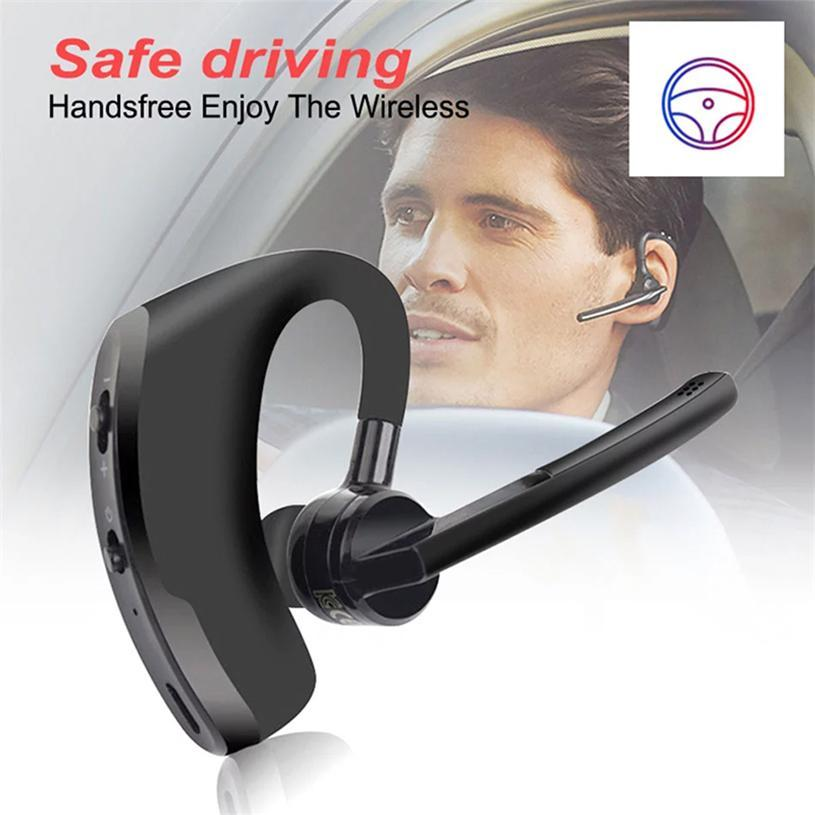 V8 Universal Sport Bluetooth-Handy-Kopfhörer Headset CSR-Business-Stereo-Kopfhörer mit mic-drahtloser Stimme Kopfhörer Einzelhandelspaket DHL