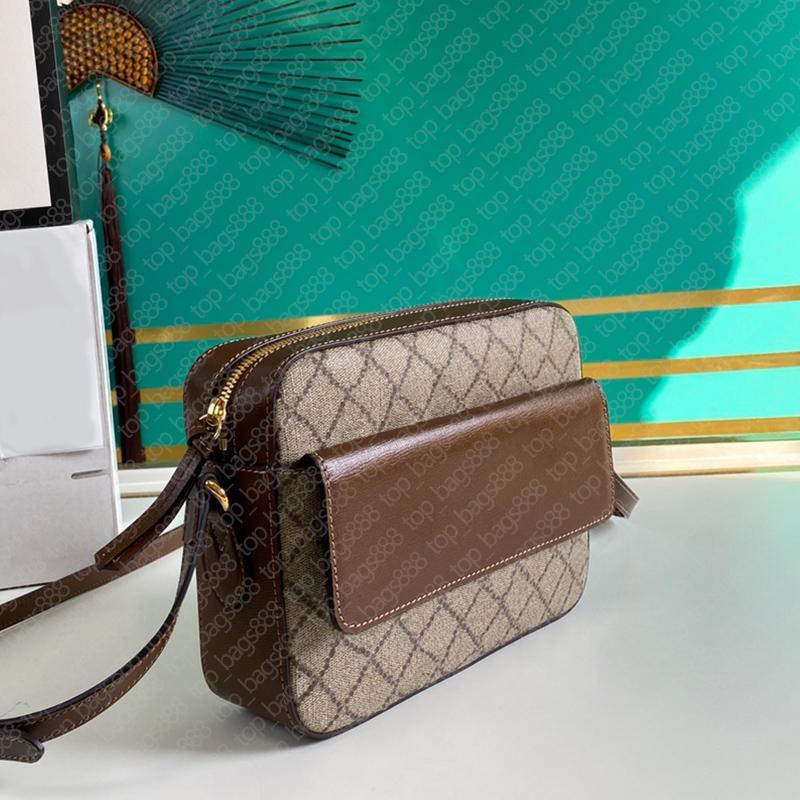 2021 design männer frauen umhängetasche paar modelle luxus designer marke original leder klassische buchstaben drucken hosbit taschen mit date code box