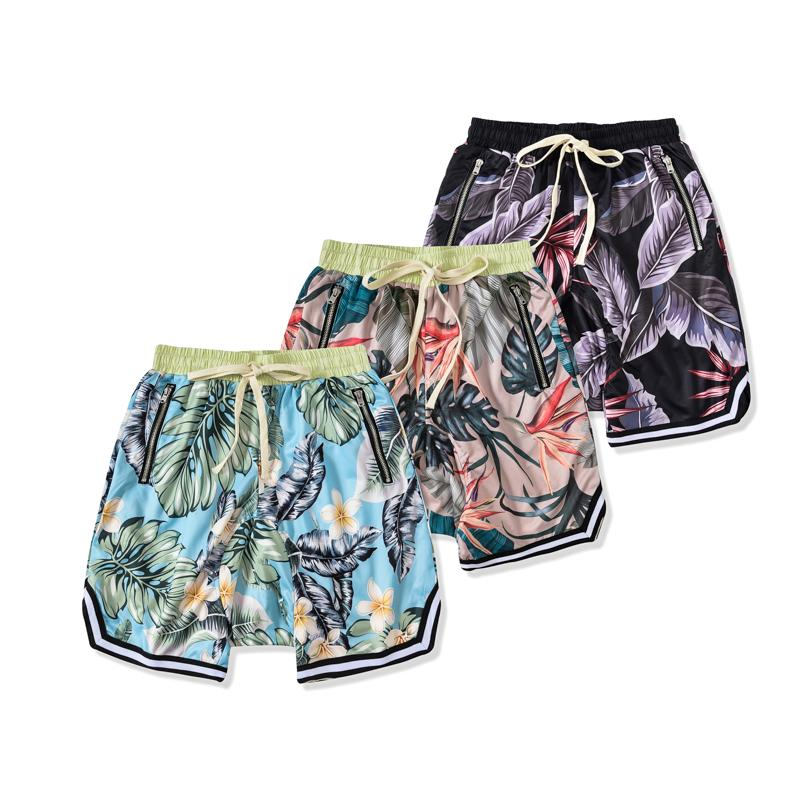 2021 шорты тумана мужчины женские дизайнерские брюки весенний страх перед Богом спорт на Гавайи песчаный пляж короткий