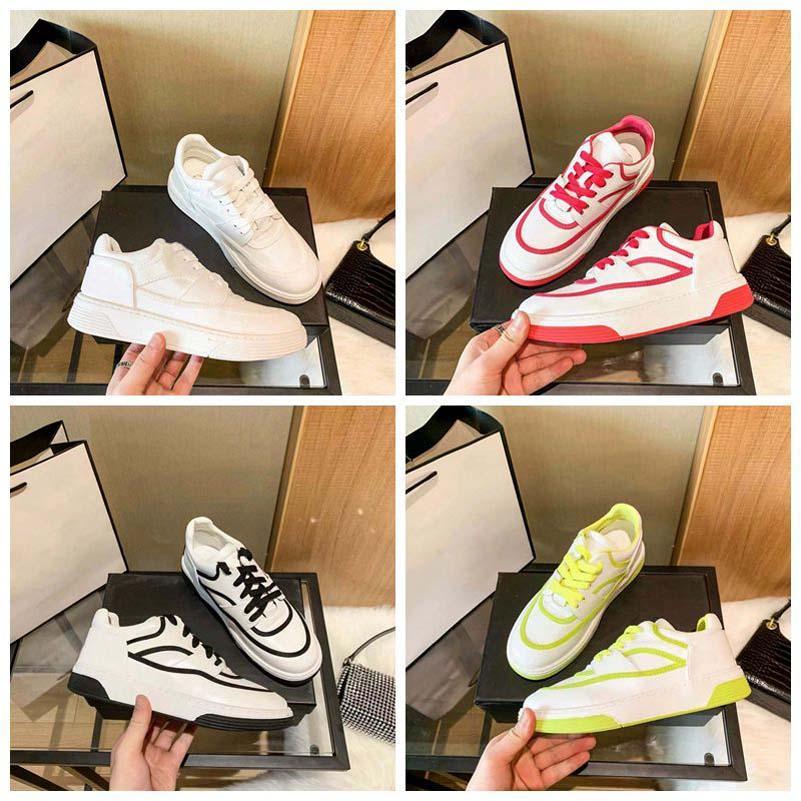 Nuovi designer di lusso scarpe da donna scarpe casual da donna sneakers in tela oblique bianca tecnologia coltello shoe008 1-1