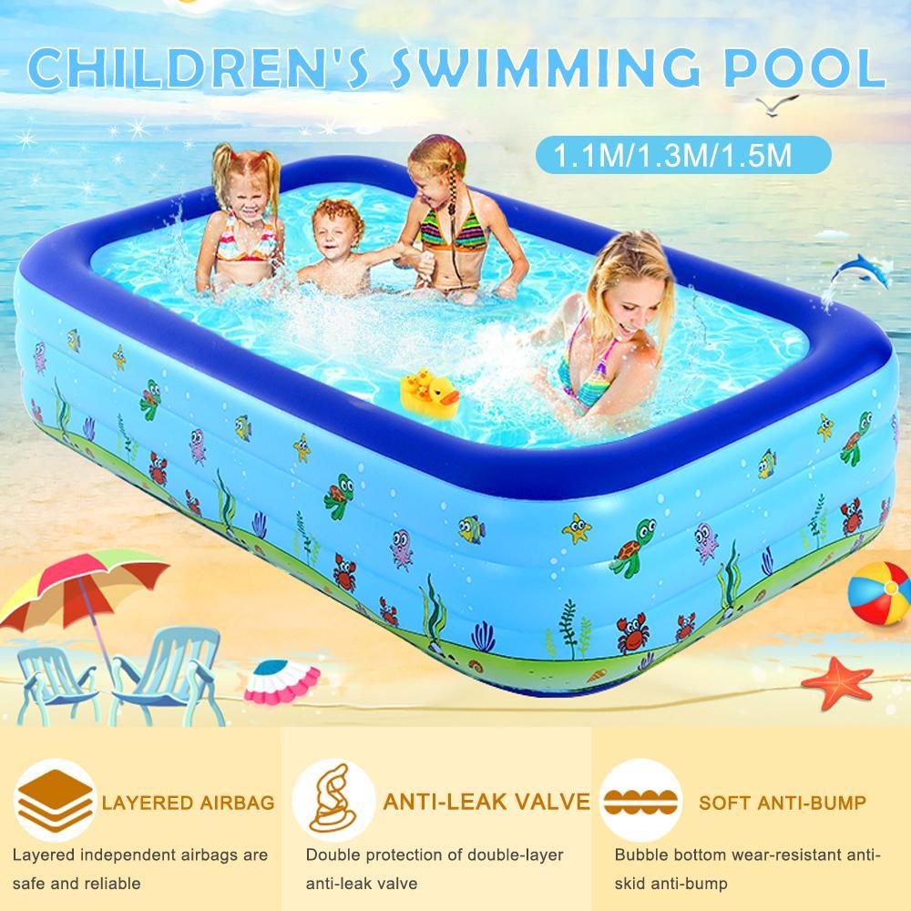 شاطئ نفخ بركة سباحة حديقة الصيف الاطفال في الهواء الطلق التجديف