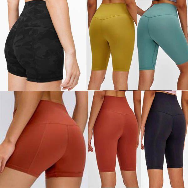 Pantalones de traje de yoga Pantalones de cintura alta Raising Sports Hips Gym Wear Lulu Leggings Align Legging Legging Pant Para Mujer Lu 001