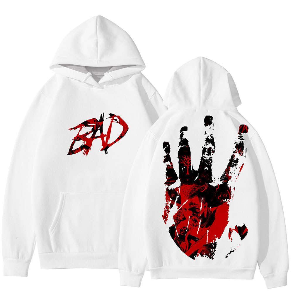 Ripper Xxxtentacion BAD Hip Hop Rapper 3D Print Hoodies Men Loose Long Sleeve Hooded Sweatshirt Pullover