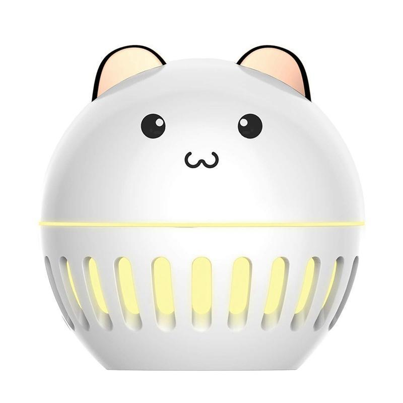 Umidificatori Carino Cinturino Aroma USB Diffusore per olio essenziale Cool mini Mini Umidificatore Aria Bedroom Bambini, luce di notte
