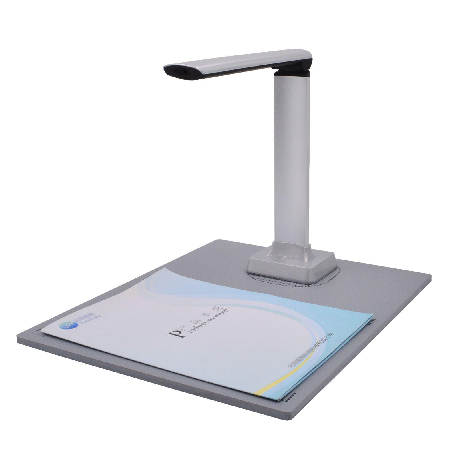 Tragbare High-Speed 12-Mega-Pixel-Cam-Scanner A4 A5 A6 Dokumentfoto-ID-ID-Karte Visualizer-Scanner-Kamera OCR