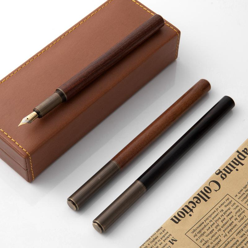 Writing Brass Office Sandalwood Business Pen for Boys and Girls