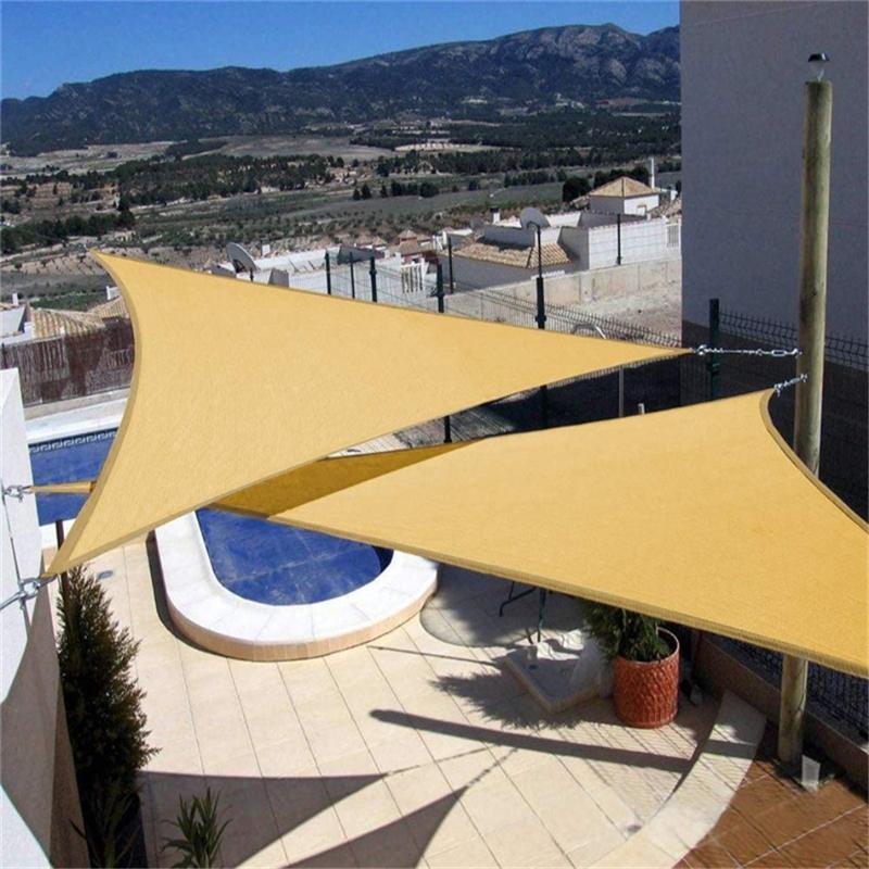 الظل متعدد الحجم Sun Sail للماء المضادة للأشعة فوق البنفسجية في الهواء الطلق حديقة الفناء حزب واقية من الشمس رعاية مظلة لشاطئ التخييم بركة