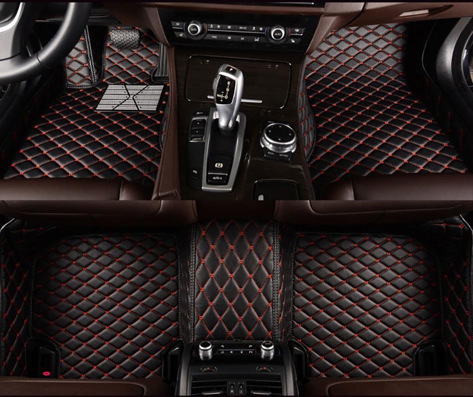 Autobodenmatte für Volkswagen VW Tiguan Allspace BW2 5N AD1 T-ROC A11 Car-Zubehör Teppich