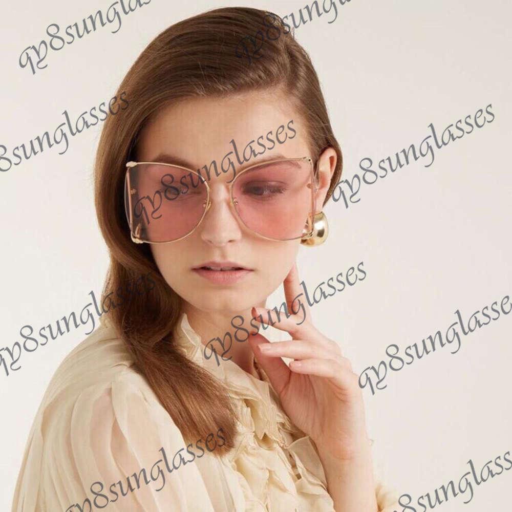 Sonnenbrille Großer personalisierter Rahmen für Gu-Sonnenbrillen mit Pearl-Inlay am und der Tail Beach Box-Set